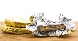 Susi cytrusów plasterki w czekoladzie Zdjęcia Stock