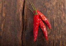 Susi czerwonego chili pieprze Zdjęcie Stock