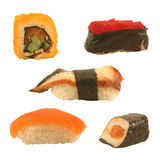 Susi en broodjes stock afbeelding