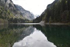 The Susicko lake and the Susica valley. The Durmitor National Park,Montenegro stock photos