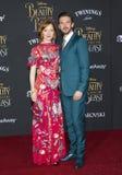 Susie Hariet and Dan Stevens Royalty Free Stock Image