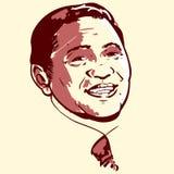 Susilo Bambang Yudhoyono portrait stock photo