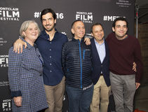 Suskind Family and Gilbert Gottfried at Screening of Life, Animated Stock Image