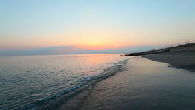 Susnet океанских волн видеоматериал
