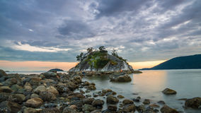Susnet Clouds over Whyte islet Stock Image
