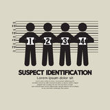 Suspect Identification Graphic Symbol Royalty Free Stock Photo