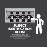 Suspect Identification Room Stock Photography