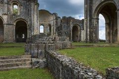 Suspence Monastery La Sauve-Majeure Royalty Free Stock Photos
