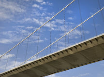 Suspended Bridge Royalty Free Stock Photography