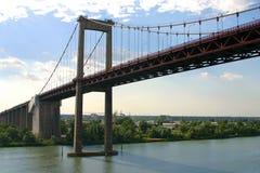 Suspended bridge Stock Photography