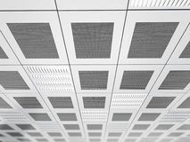 Suspended ceiling background Stock Photography