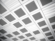 Suspended ceiling background Royalty Free Stock Photos