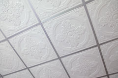 Suspended ceiling. Texture and background Royalty Free Stock Images