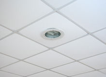 Suspended ceilings Stock Image