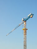 Suspended construction crane Royalty Free Stock Photo