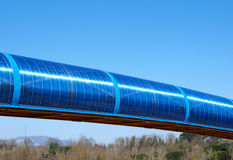 Suspended conveyor Royalty Free Stock Image