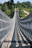 Suspended Pedestrian Bridge, Quebec, Canada Stock Photos