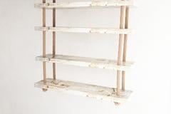 Suspended shelves side Stock Photo