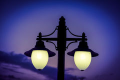 Suspended Streed Light Royalty Free Stock Photography