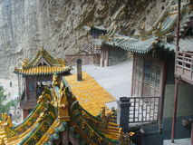 The Suspended Temple(xuankong temple) Stock Photo