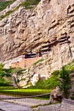 The Suspended Temple of Mt. Hengshan. Royalty Free Stock Photo