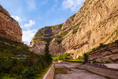 The Suspended Temple of Mt. Hengshan. Stock Photos