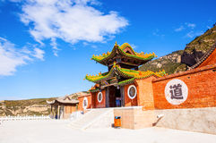 The Suspended Temple of Mt. Hengshan. Royalty Free Stock Photos