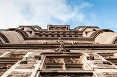 Suspender vertical da ponte da torre em Londres Imagem de Stock