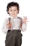 suspenders αγοριών Στοκ φωτογραφία με δικαίωμα ελεύθερης χρήσης