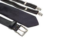 Suspenders e correia do laço Fotografia de Stock Royalty Free