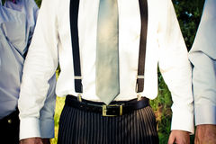 Suspenders Royalty Free Stock Image