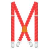 Suspenders  illustration isolated on white background Stock Photos
