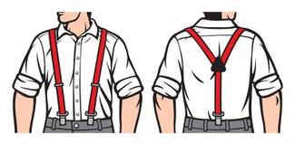 Suspenders Royalty Free Stock Photo