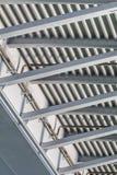 Suspendierung Ada Bridge - modulares Träger-Rahmen-Detail - Belgra Stockfotos