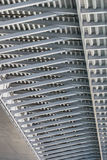 Suspendierung Ada Bridge - modulares Träger-Rahmen-Detail - Belgra Lizenzfreie Stockfotos