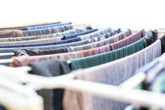 Suspensão da lavanderia Fotografia de Stock Royalty Free