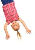 Suspensão de cabeça para baixo Imagem de Stock Royalty Free