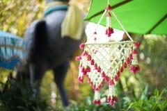 Suspensão falsificada da flor varicolored Fotografia de Stock