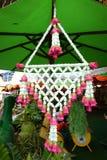Suspensão falsificada da flor varicolored Fotografia de Stock Royalty Free