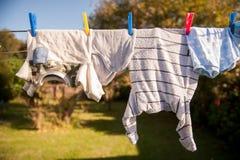 Suspensão para fora a secar Fotografia de Stock
