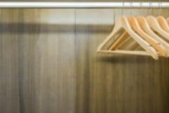 Suspensión de ropa borrosa Imágenes de archivo libres de regalías