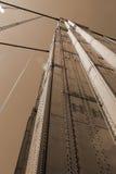 Suspensión Roces y alambres Foto de archivo
