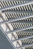 Suspension Ada Bridge - Modular Girder Framework Detail - Belgra Stock Photos
