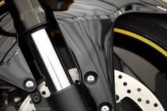 Suspension avant de moto Photos libres de droits