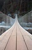 Suspension bridge. A suspension bridge in the Tsitsikamma National Park in South Africa Stock Photos
