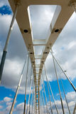 Suspension bridge. Royalty Free Stock Photography