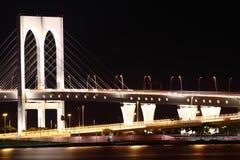 Suspension bridge Stock Images