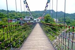 A suspension bridge Royalty Free Stock Photography