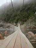 Suspension Bridge. In national park Stock Photography