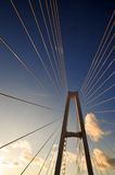 Suspension Bridge Royalty Free Stock Photos